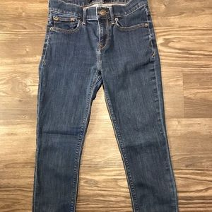 Express size 0 short Jeans (legging mid-rise)